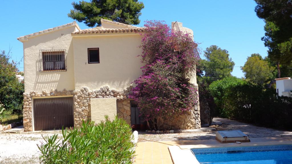 El portet villa in moraira buy a house in calpe - Villa el portet ...