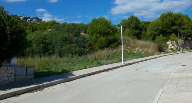Parcela con proyecto Benimaurell en Moraira (8)