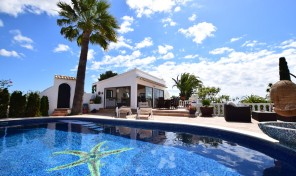 Baladrar Villa in Benissa Costa for season rent