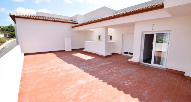 Terraza ático Ibiza de 3 dormitorios en Teulada (2)