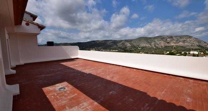 Terraza ático Ibiza de 3 dormitorios en Teulada (3)