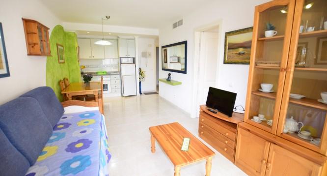 Apartamento Topacio III 1D en Calpe (4)