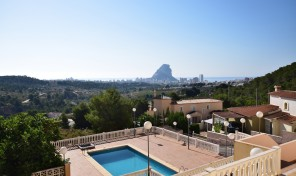 La Perla townhouses in Calpe
