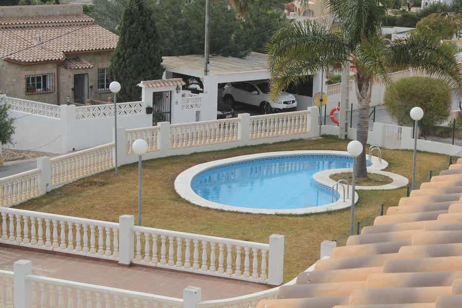 Bungalow gabina en calpe comprar y vender casa en calp benidorm altea moraira alicante - Restaurante puerto blanco calpe ...