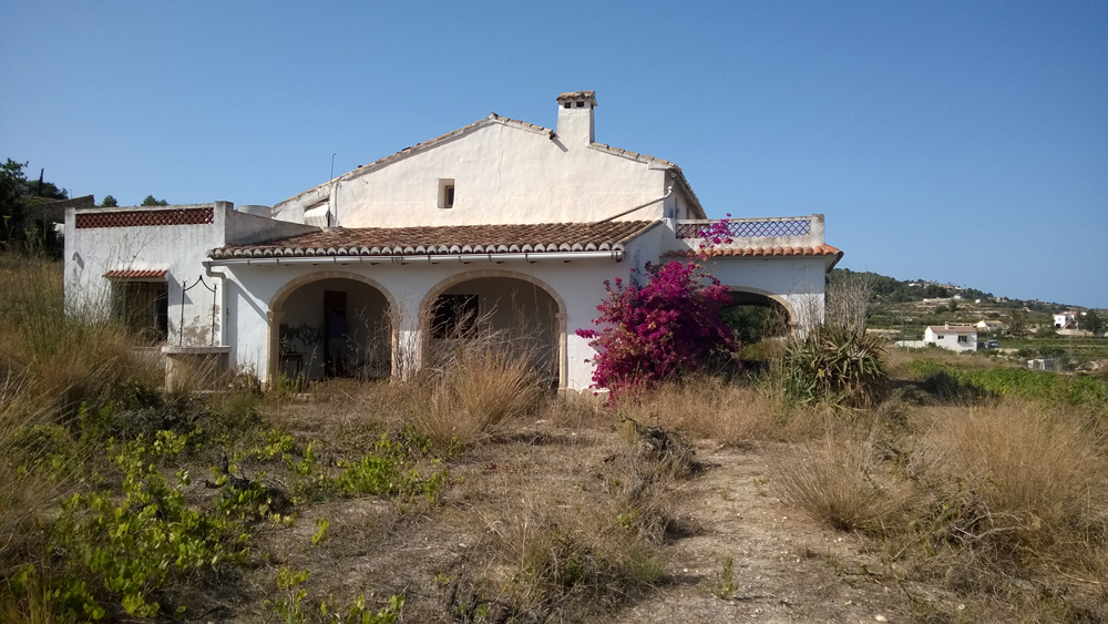 Casa de campo churra en teulada comprar y vender casa en calp benidorm altea moraira - Casas en altea ...