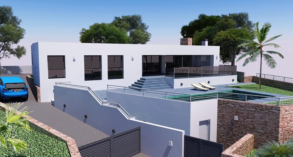 Villa en moraira comprar y vender casa en calp benidorm for Casa moderna alicante