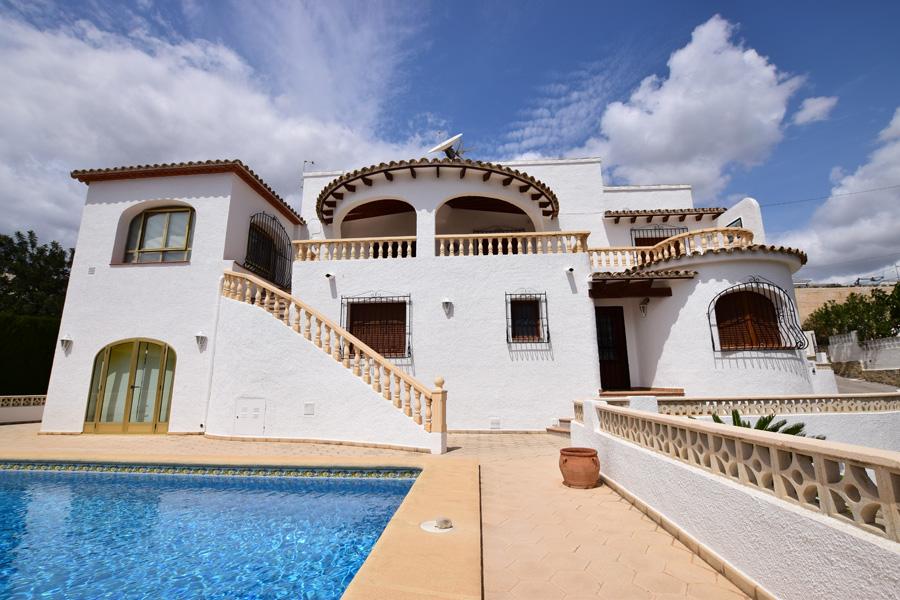 Villa pinarmar en calpe en alquiler de temporada comprar y vender casa en calp benidorm - Alquiler casa calpe ...