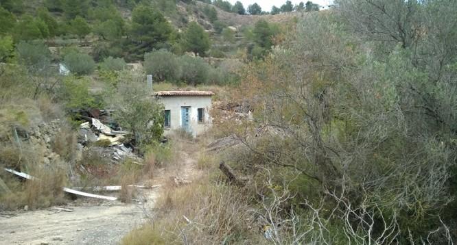 Casa de campo con parcela en Benissa (1)