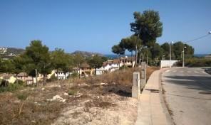 Terrain à Moraira