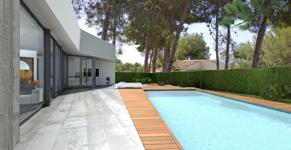 Villa moderne benissa costa acheter ou louer une for Acheter une maison a alicante