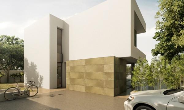 Villa en construcción de estilo moderno con piscina, Benissa Costa (B200170) (2)