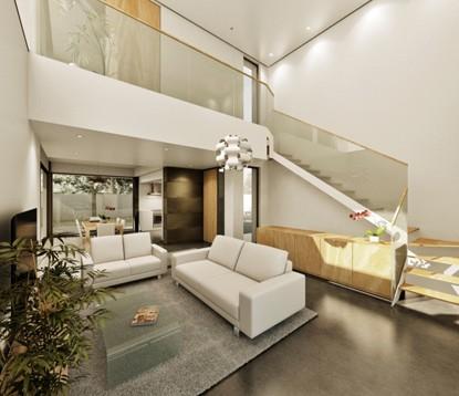 Villa en construcción de estilo moderno con piscina, Benissa Costa (B200170) (3)