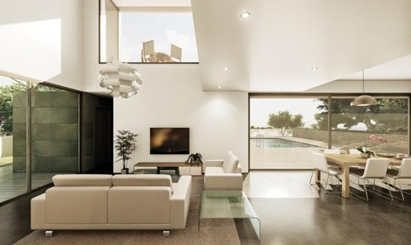 Villa en construcción de estilo moderno con piscina, Benissa Costa (B200170) (5)
