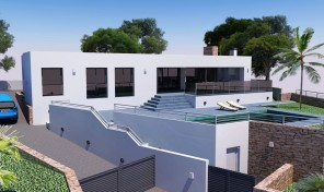 Villa Moderna en Moraira (1)