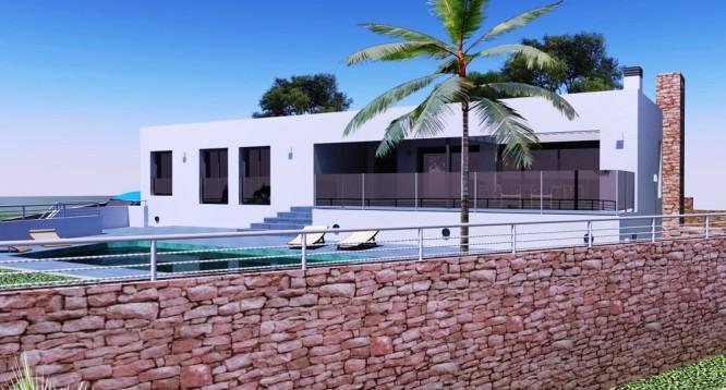 Villa Moderna en Moraira (2)