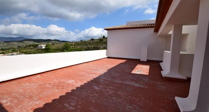 Terraza ático Ibiza de 3 dormitorios en Teulada (1)
