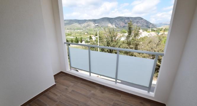 Terraza apartamento Ibiza tipo i13 en Teulada
