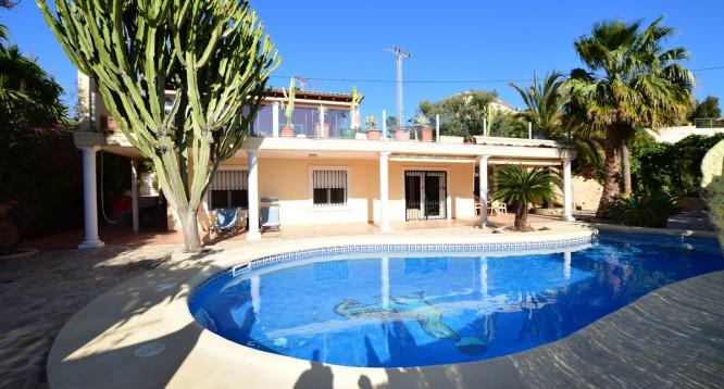 Villa Los Pinos Bassetes en Calpe (1)