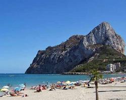 Пляж Playa de la Fossa в Кальпе