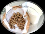 Орчата, напиток из земляного ореха чуфы