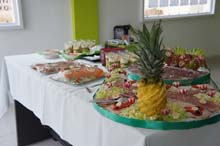 Вкусная закуска - День рождения компании Leukante Realty 2014