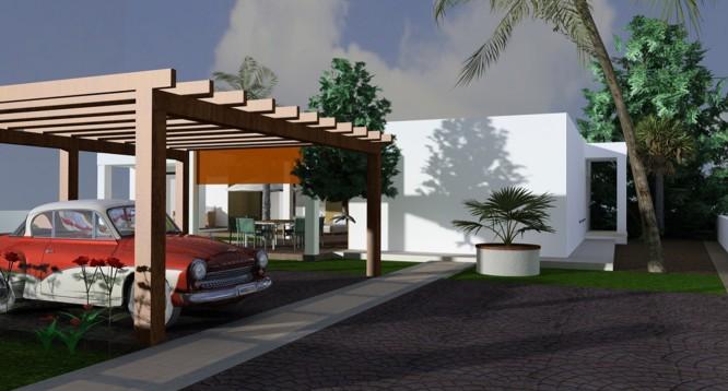 Parcela con proyecto Benimaurell en Moraira (1)