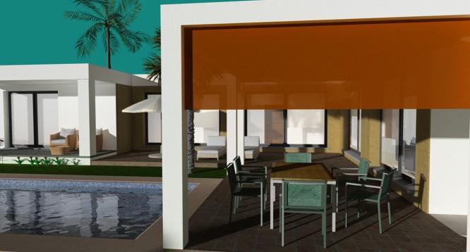 Parcela con proyecto Benimaurell en Moraira (2)