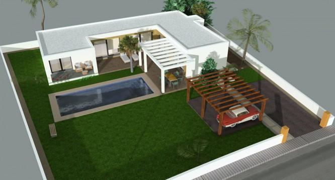 Parcela con proyecto Benimaurell en Moraira (5)