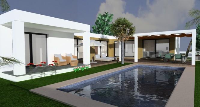 Parcela con proyecto Benimaurell en Moraira (6)