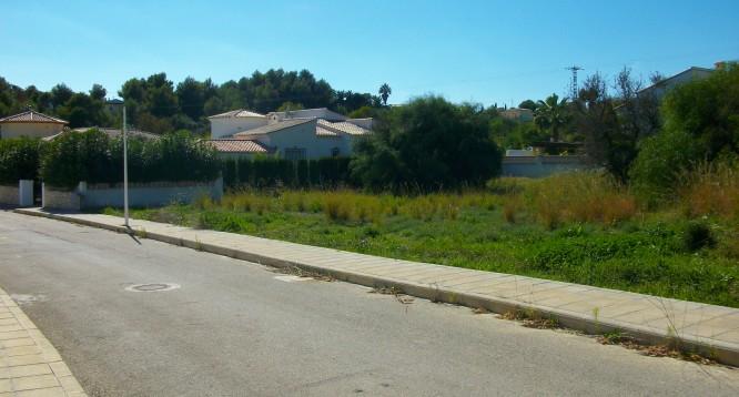 Parcela con proyecto Benimaurell en Moraira (7)