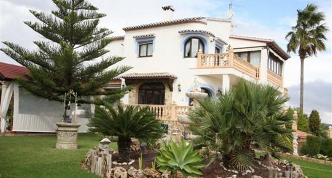 Villa Benimarco II en Benissa (1)